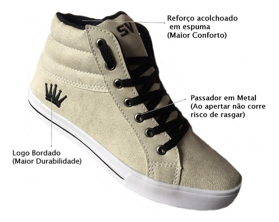 Coturno Botinha Infantil + Brinde Pronta Entrega Cod6