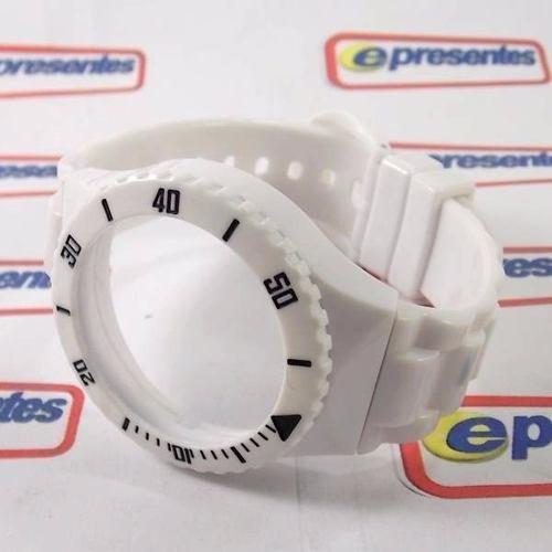 Pr30119b Pulseira Champion Branco Brilhante - 100% Original