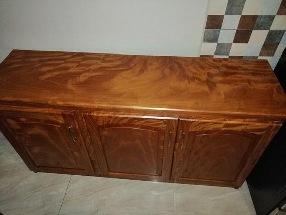 Mueble Cocina Madera De Cedro. Finísimo Acabado
