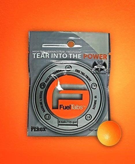 Ferox Fuel Tabs 1gr X 10 Aditivo Catalizador De Combustible