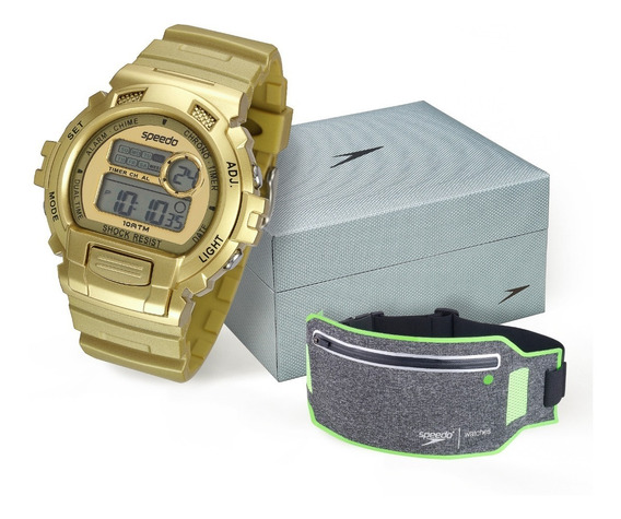 Relógio Kit Feminino Speedo 65083l0evnp3k5 Promoção
