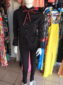 Elegante Conjunto 2 Piezas Manga Larga Pantalon Trabajo