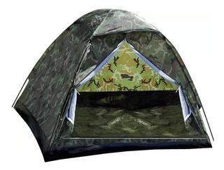Barracas Camping Camuflada Militar 6 Lugares