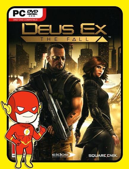 Deus Ex The Fall Pc - Steam Key (envio Flash)