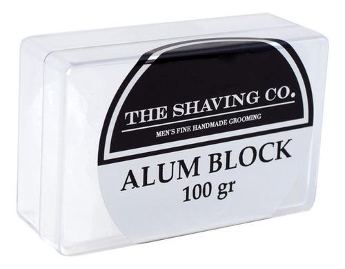 The Shaving Co. Barra De Alumbre 100gr