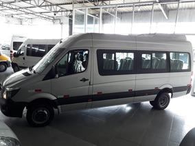 M Benz Sprinter 2.2 Cdi 515 Teto Alto 2019 0km 18 Lugares