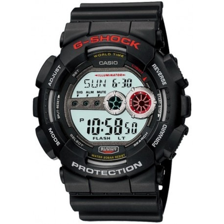Relogio Casio G-shock Gd100-1adr Preto Original