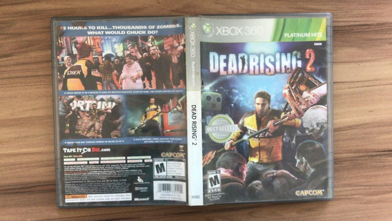 Jogo Dead Rising 2 Xbox 360 Usado Original
