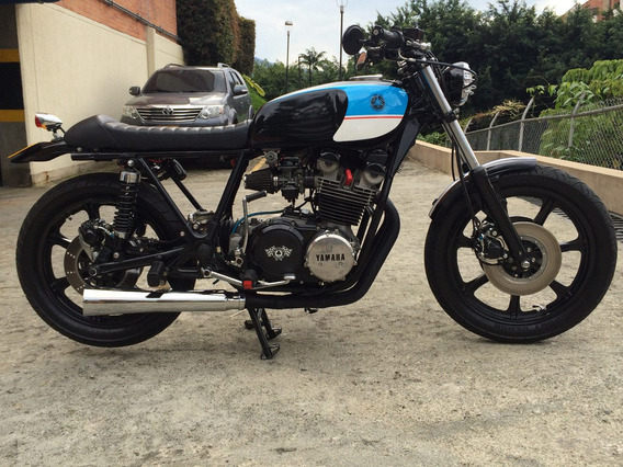 Yamaha Xs750 Modelo 1977 Cafe Racer, 3 Cilindros, Clasica