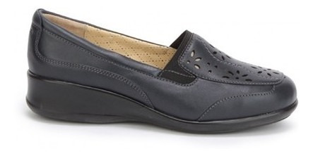 Zapato Mocasin Onena Mujer Piel Azul 8062
