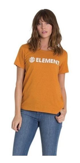 Remera Mujer Element Logo Tee Jeremele Cmo