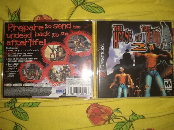 The House Of The Dead 2 Dreamcast Original