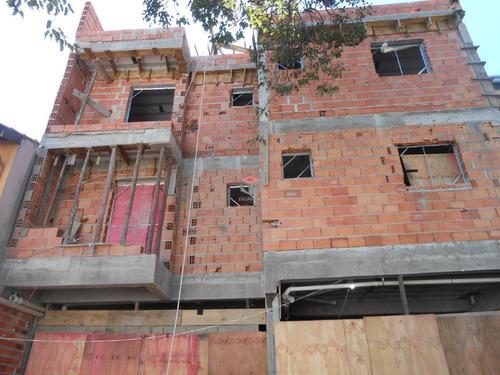 Cobertura À Venda, 2 Quartos, 1 Vaga, Casa Branca - Santo André/sp - 98356