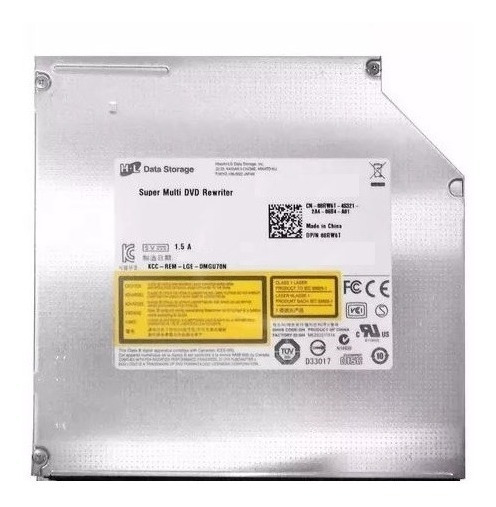 Gravadora Dvd Notebook Dell 14 3421 Gu70n 08rw6t Sem Frente