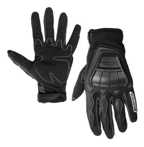 Guantes Scoyco Mc08 Negro Moto Proteccion Motociclismo