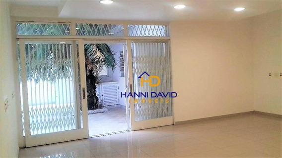 Ótima Casa Comercial Para Locação Na Vila Clementino 4 Vaga, Próximo Do Metrô Santa Cruz - 451 M² - Ca0127