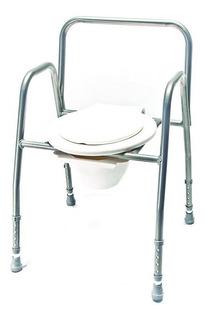 Asiento Eleva Inodoro Aluminio Reforzado Massuar Premium