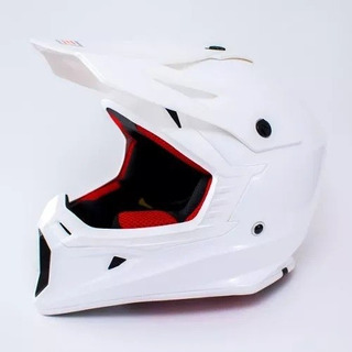 Casco Cross Enduro Origine V325 Blanco Cierre Doble Anilla