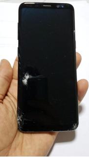 Celular Galaxy S8 64 Gb (tela Frontal Com Batidos)
