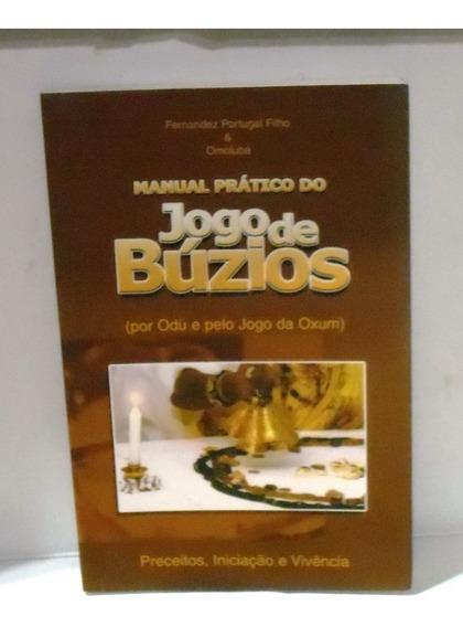 Livro - Manual Prático Do Jogo De Búzio Por Odù E Pelo Jogo