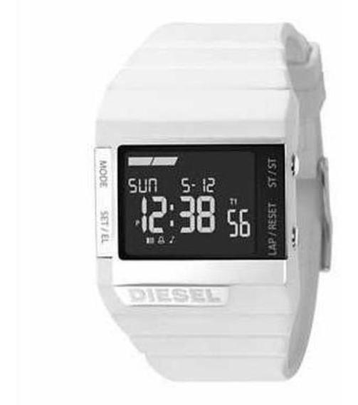 Relógio Diesel Dz7131 Branco Digital