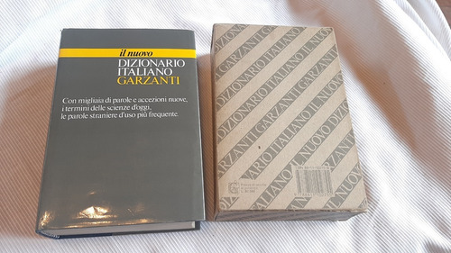 Il Nuovo Dizionario Italiano Garzanti
