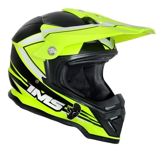 Capacete Ims Light Flúor Enduro Motocross Trilha Promoção