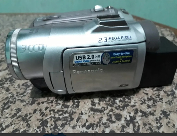 Panasonic Pv-gs150 2.3 Mega Pixel 3ccd Minidv Camcorder Com
