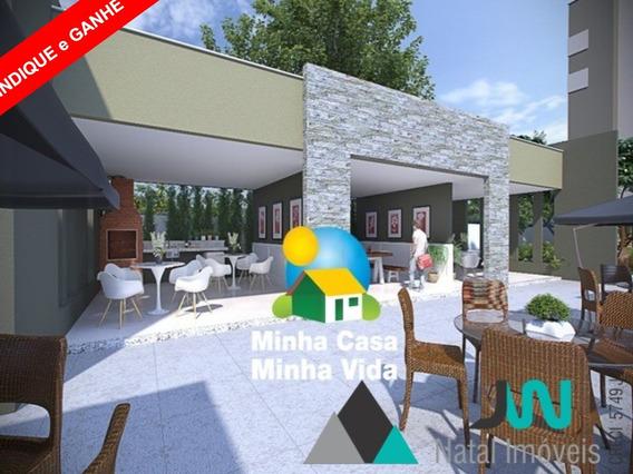 Parque Do Planalto Condomínio Clube - Venda De Apartamento Em Natal, Com 2 Quartos E Pelo Programa Minha Casa Minha Vida - Ap00109 - 31947697