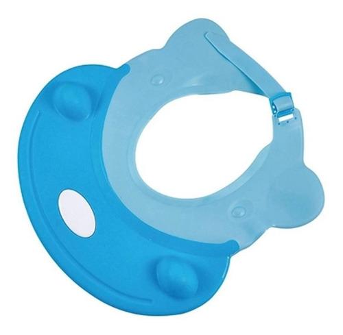 Viseira Infantil Para Banho Azul Kababy 22050a