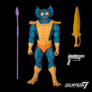 Motu Masters Of The Universe Filmation Mer-man Super 7
