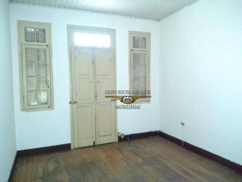 Sobrado Com 4 Dormitórios À Venda E Locação R$ 6.000,00, Com 200 M²  - Belém - São Paulo/sp - So1438