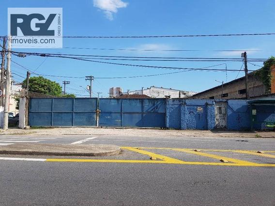 Terreno De Esquina A Poucos Metros Da Zona Portuária, 1460 Metros. - Te0087