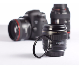 Lente Filtro Uv De Camara Nikon Canon 55mm
