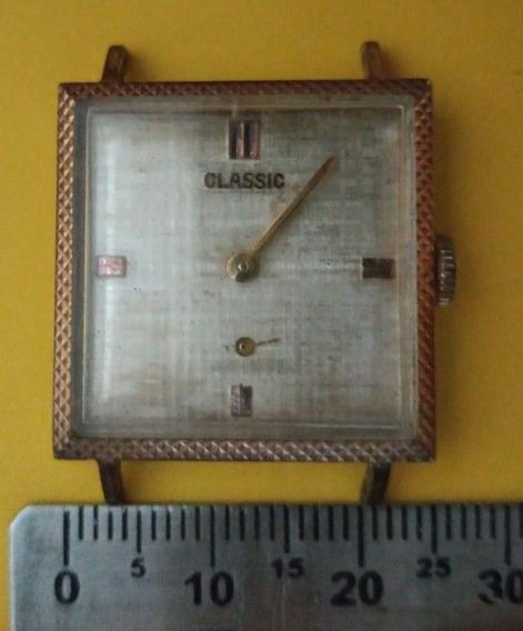 Relógio Antigo, Classic À Corda P/ Restauro. Leia Anúncio.