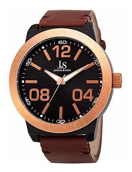 Joshua & Sons Jx103 - Reloj De Pulsera Para Hombre (esfera R