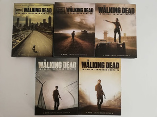 The Walking Dead Dvd Set Box
