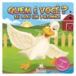Livro Infantil Blu Editora Quem É Você? Eu Sou Um Patinho!