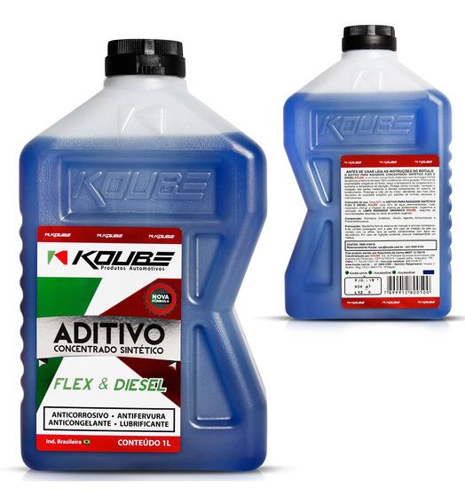 Aditivo Radiador Concentrado Sintetico Azul 1l