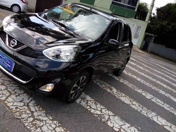 Nissan March 1.6 Sl 2015 Ofertao Recuperado