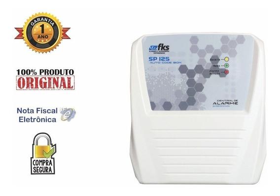 Central Alarme Residêncial Sp 125 C/ Box - Fks