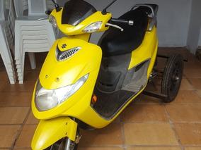 Suzuki Burgman 125 Adaptado Para Idosos