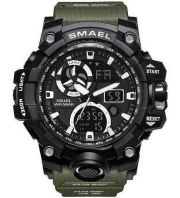 Relógio Smael Shock 8011 Esportivo Militar