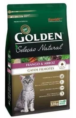 20 Kg Ração Golden Seleção Natural Gatos Filhotes