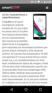 Lg G4 3gb De Ram 32 Memoria Interna