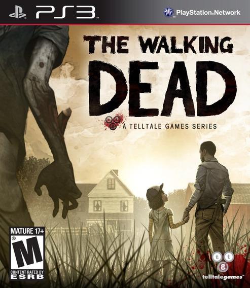 Jogo The Walking Dead Ps3 Playstation 3 Mídia Física Telltal