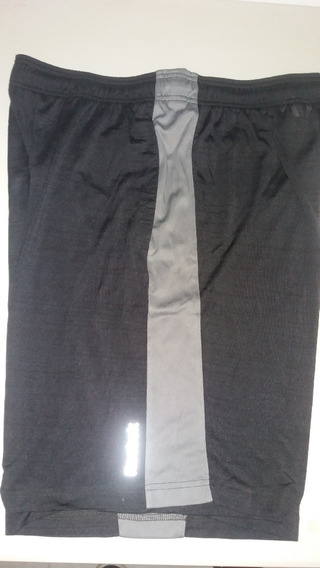 Pantaloneta Basketball Reebok Color Negro-gris