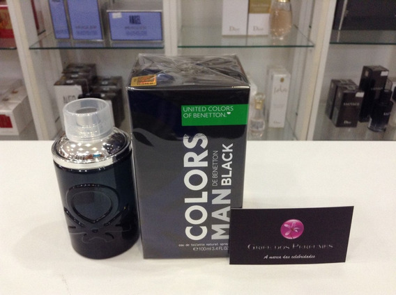 Perfume Benetton Colors Black Edt 100ml