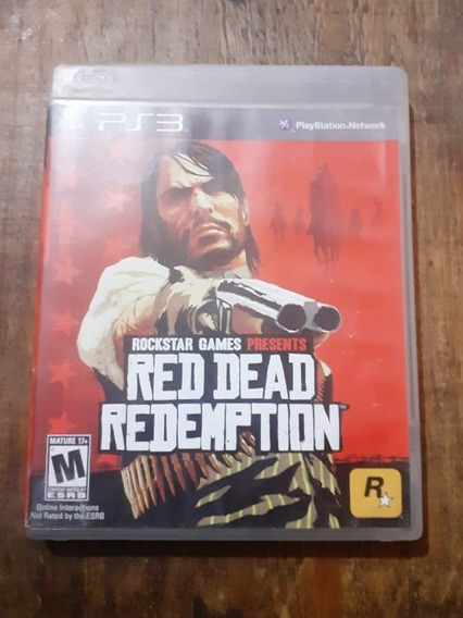 Red Dead Redemption, Ps3, Mídia Física