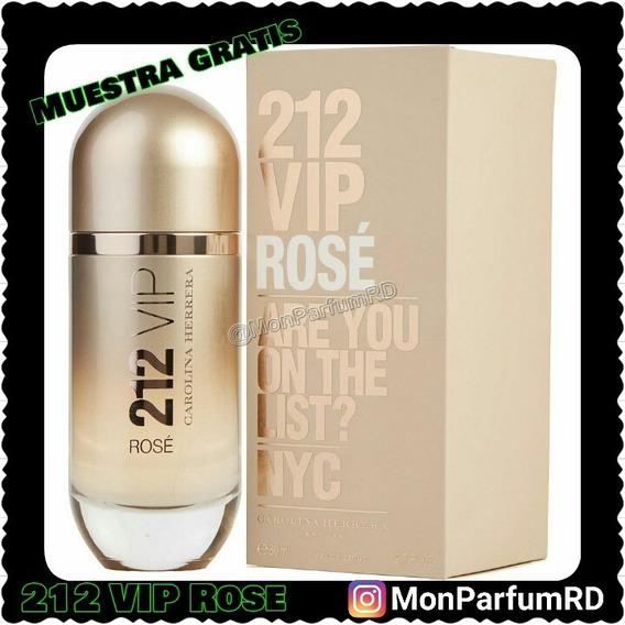 ** Perfume 212 Vip Rose By Carolina Herrera. Inmediato ***